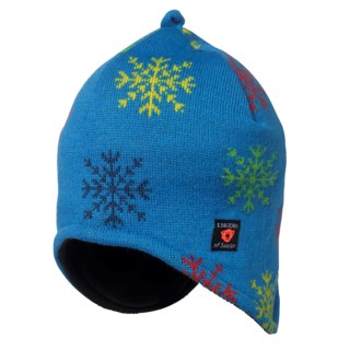 Snowflake Knitted Cap Kids
