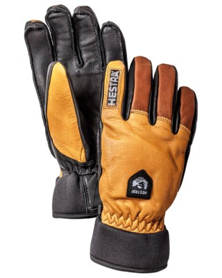 Army Leather Wool Terry - 5 Finger