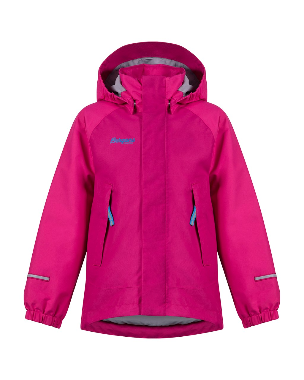 7ee4b0e4 Storm Insulated Kids Jacket Cerise/Hot Pink/Light Winter Sky