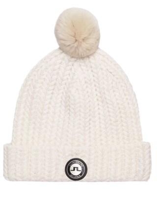 Fur Ball Hat Wool Blend