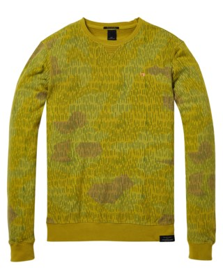 Classic Garment-Dyed Crewneck Sweat M