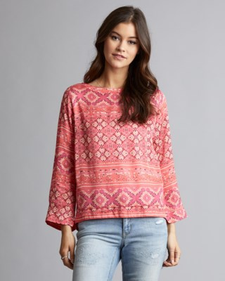 Warm Hearted L/S Blouse W