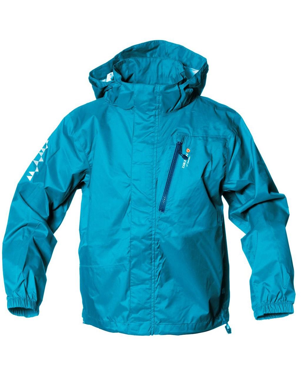 6504500c Isbjörn of Sweden. Light Wight Rain Jacket Kids Ice