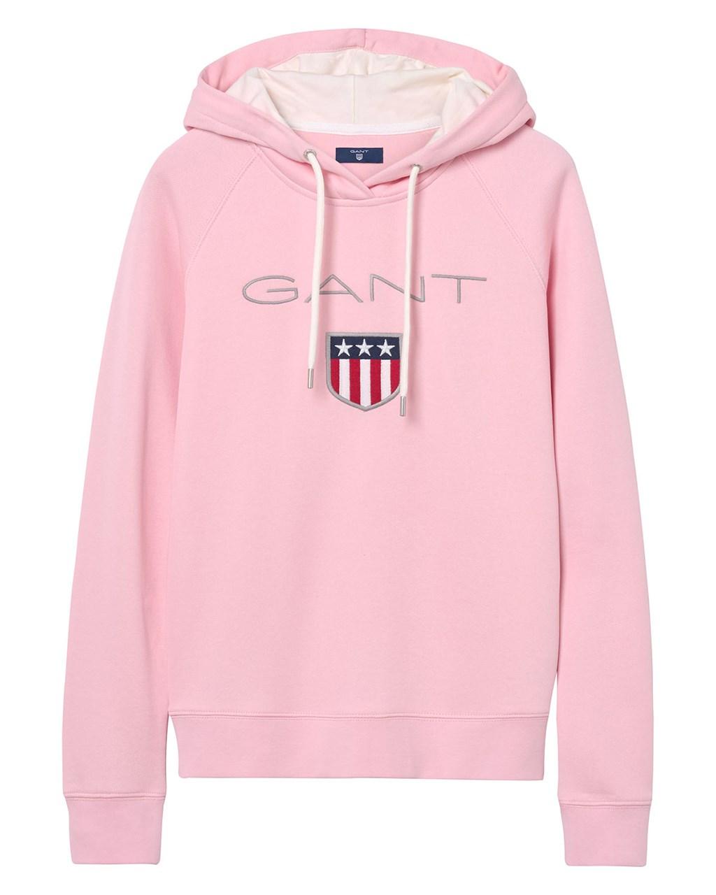 7242673c Gant. Gant Shield Sweat Hoodie W California Pink