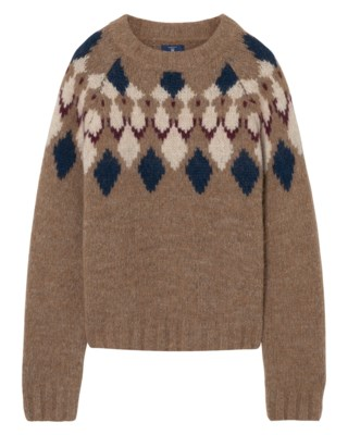 Cozy Fairisle Knit W