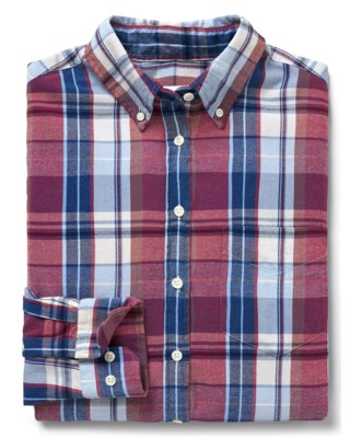 Winter Flannel Madras Shirt W