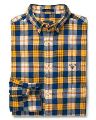 Windblown Flannel Plaid Shirt M