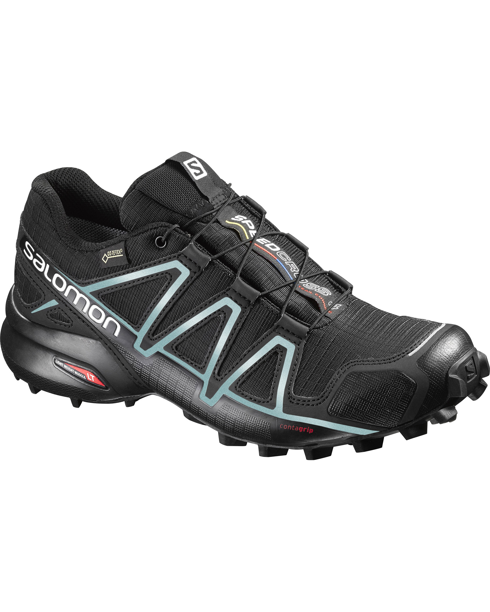 Speedcross 4 GTX® W BlackBlackMetallic Bubble Blue