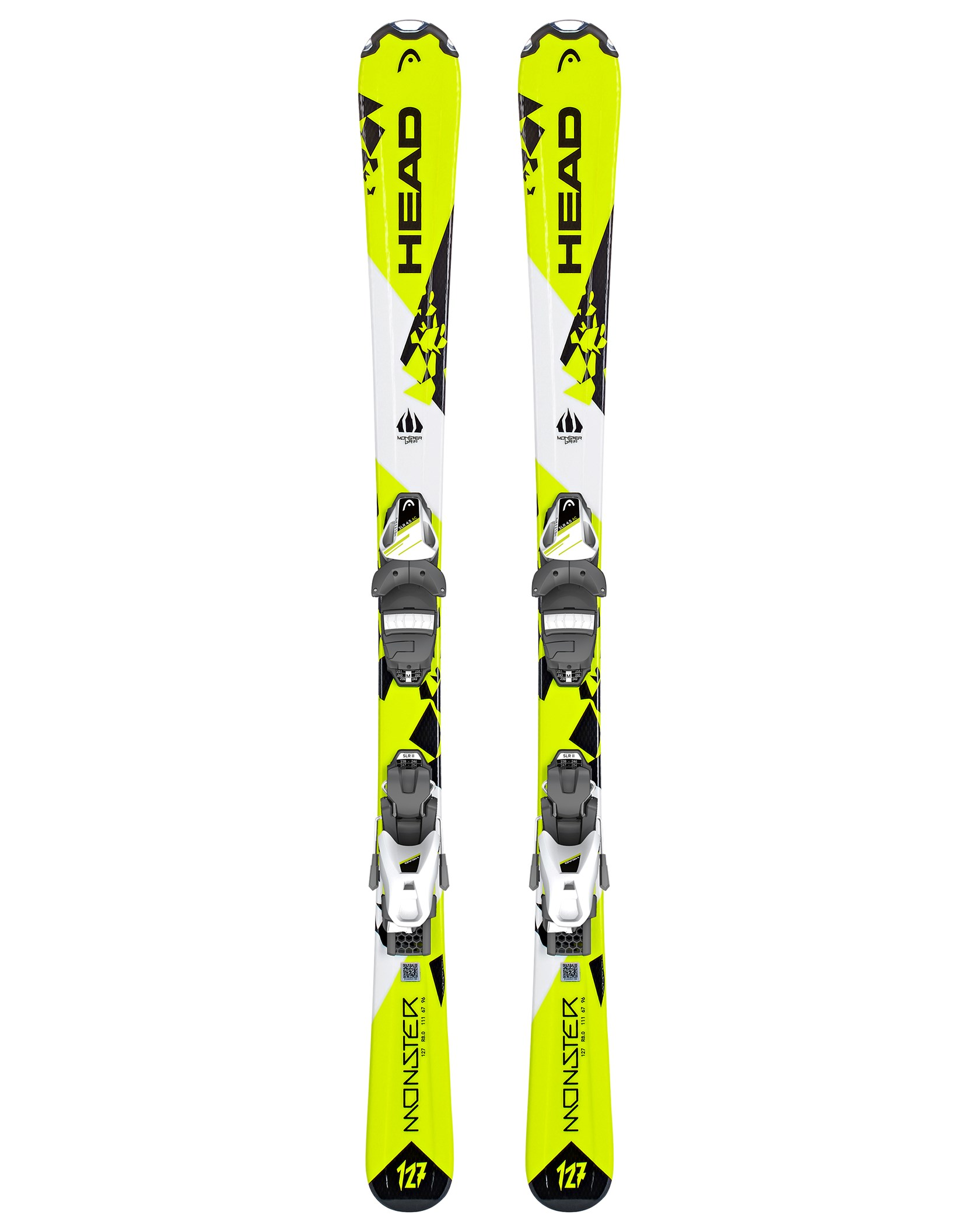 27756afe3 Monster SLR 2 JR 18/19 Neon Yellow/White