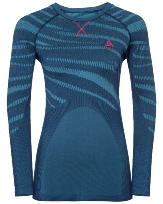 Suw Top L/S Performance Blackcomb Crewneck W