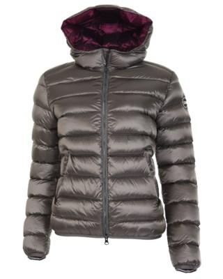 Satin Down Hood Jacket 2286N W