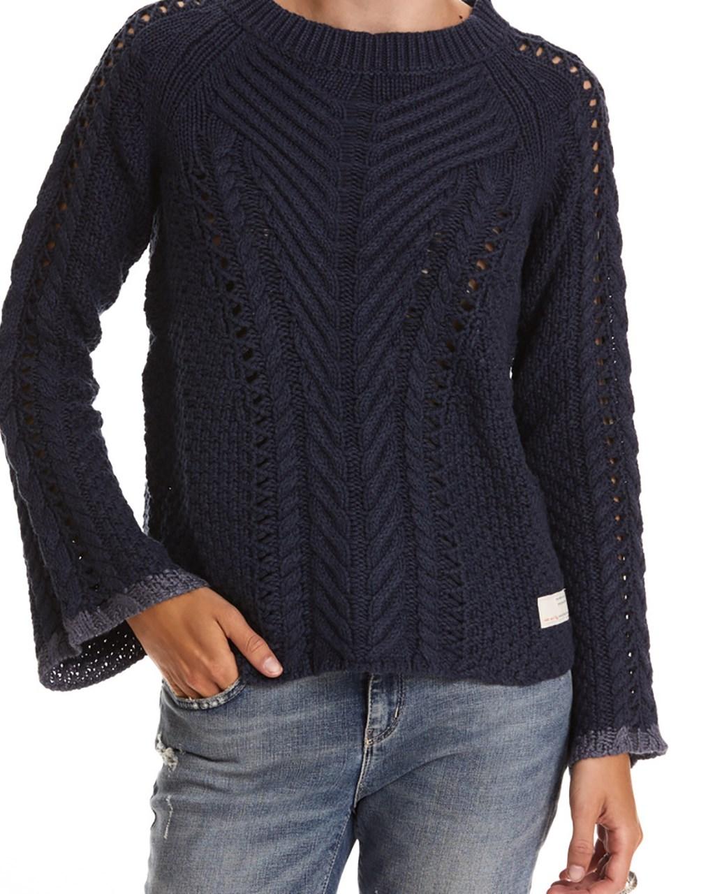 odd molly lovely knit blue