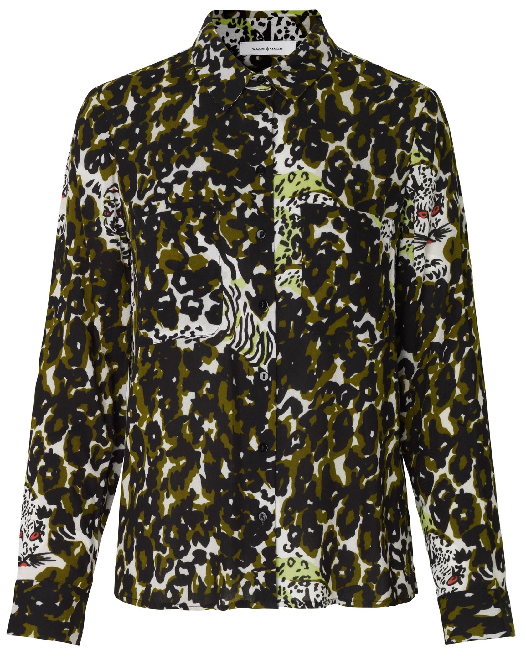 651a3d4143c4 Samsøe and Samsøe. Milly Shirt aop 7201 ...