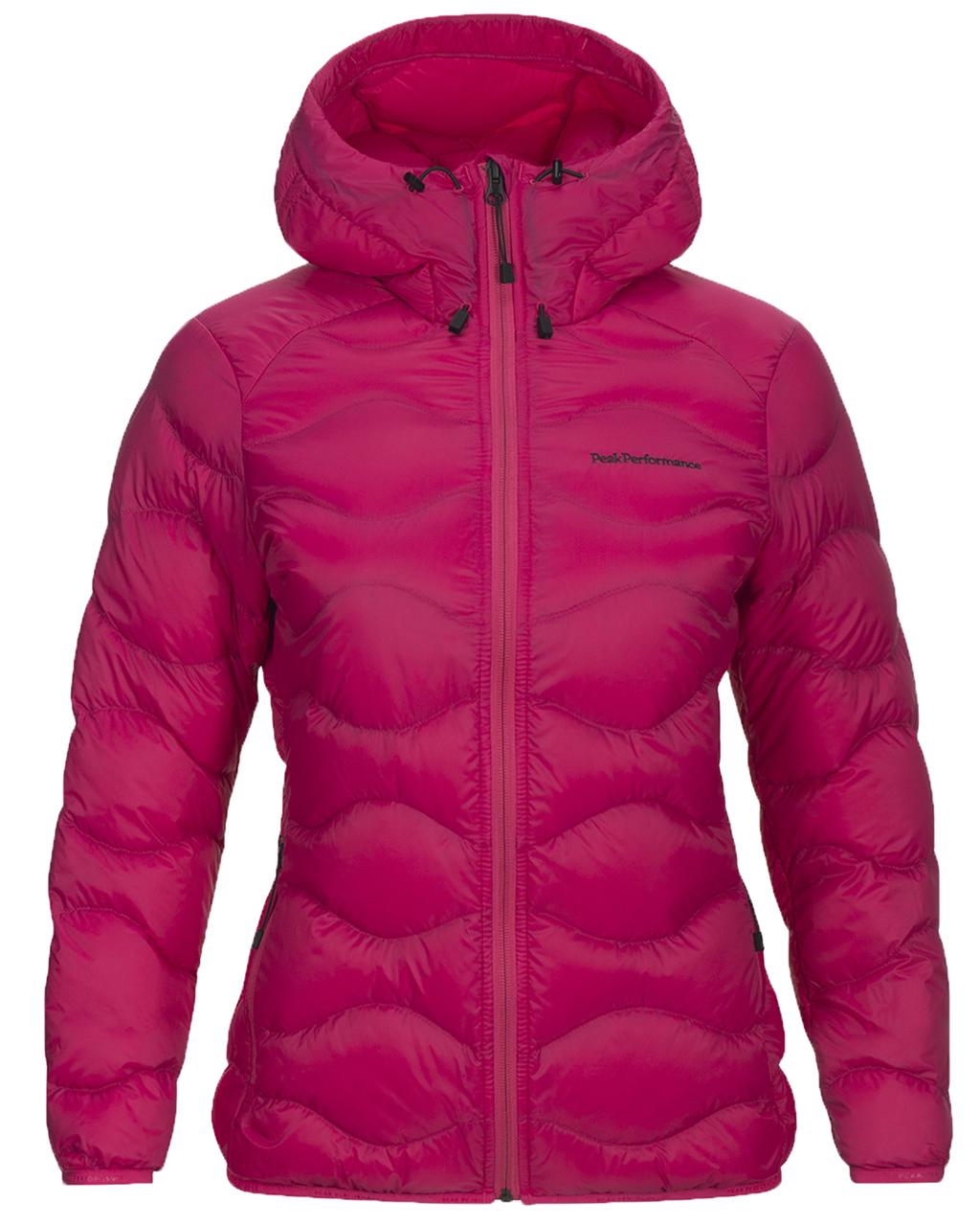 pink peak performance jakke