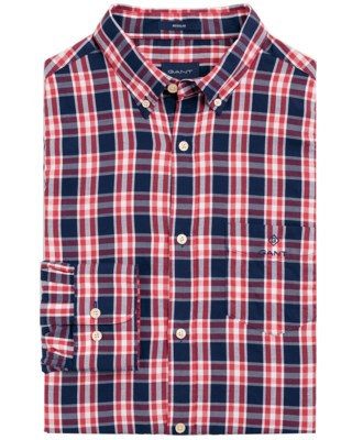 Windblown Oxford Plaid Regular Shirts M