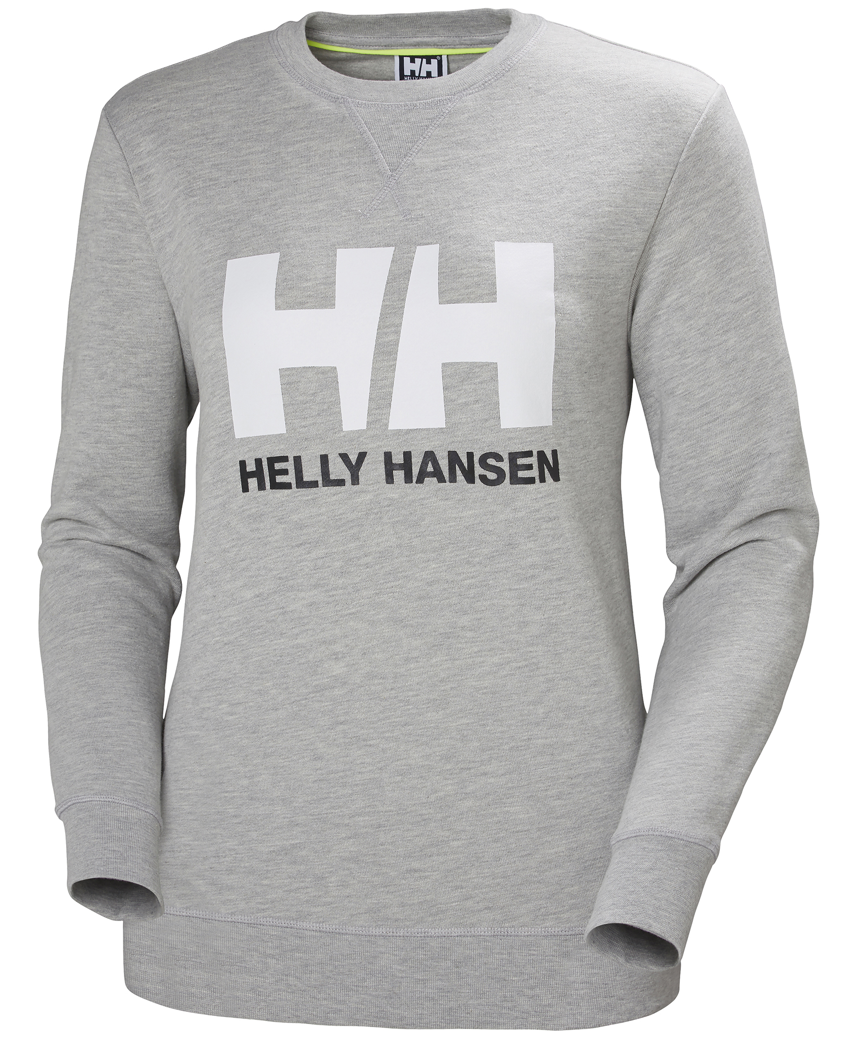 HH Logo Crew Sweat W Grey Melange