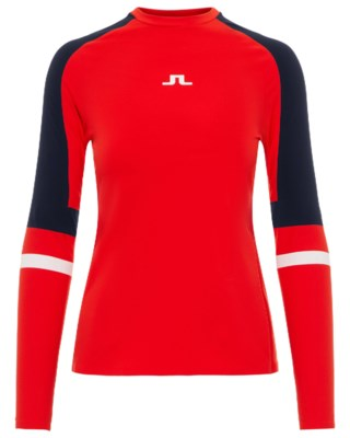 Anick Compression Poly L/S W