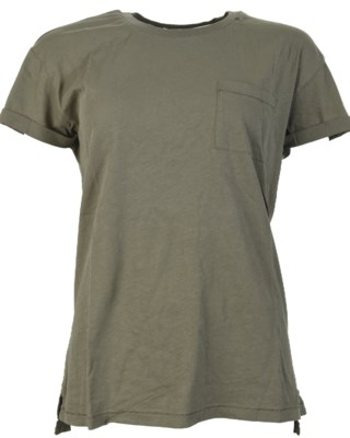 Basic T-shirt With Pocket W