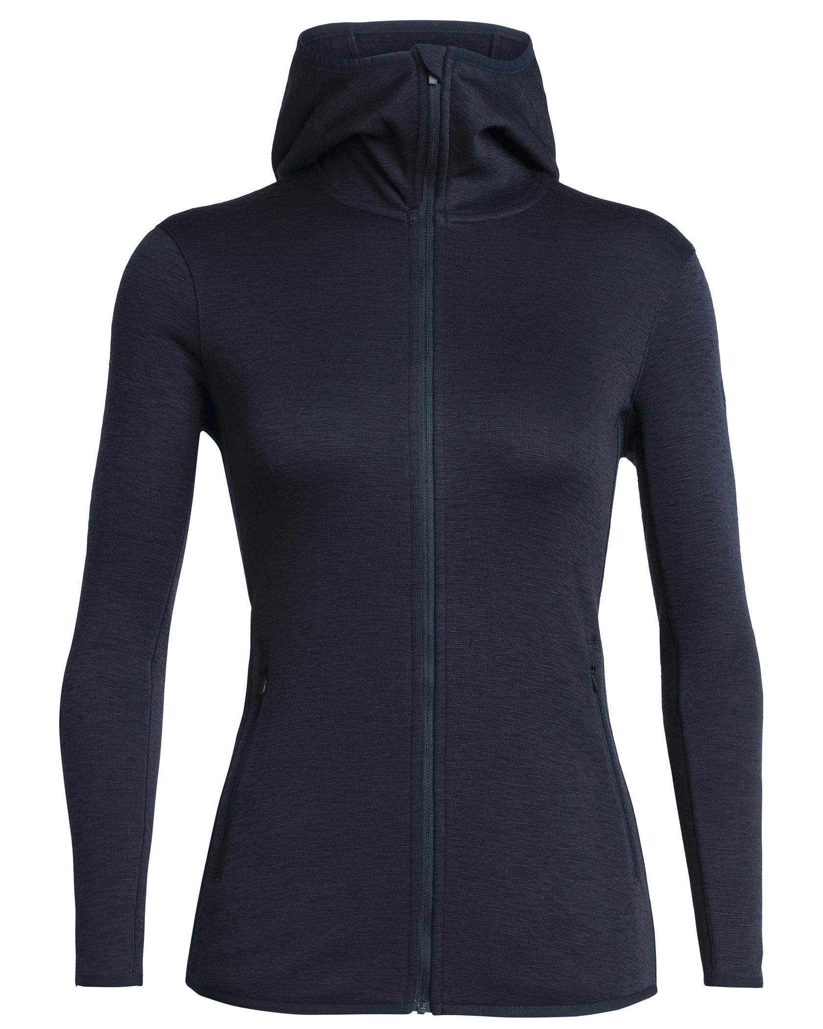 Elemental LS Zip Hood W Midnight Navy