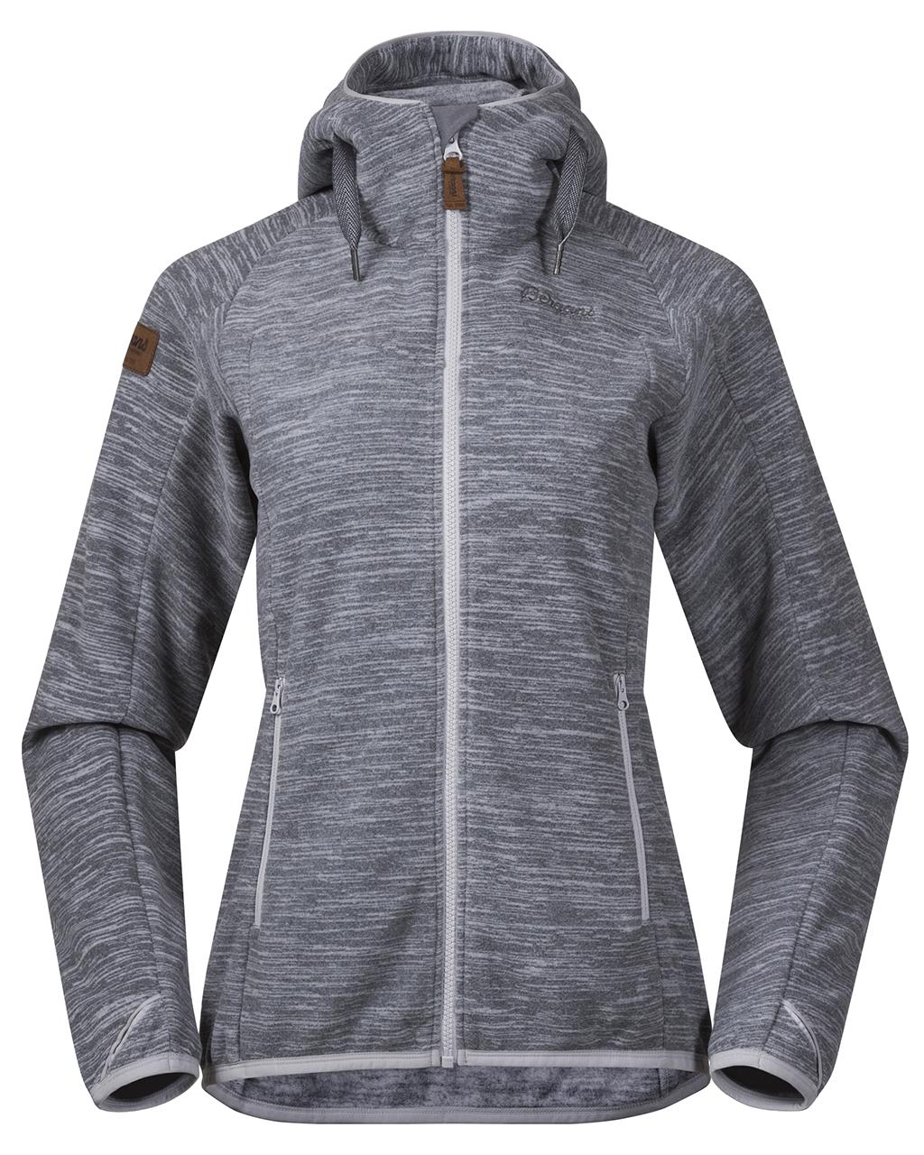 Hareid Fleece Jacket W Aluminium Melange