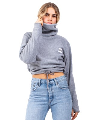 Peg Fleece Cropped W