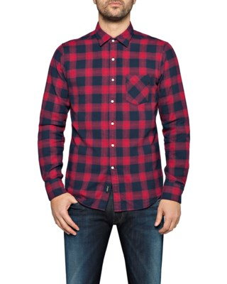Cotton Flannel Check Shirt M4953P M