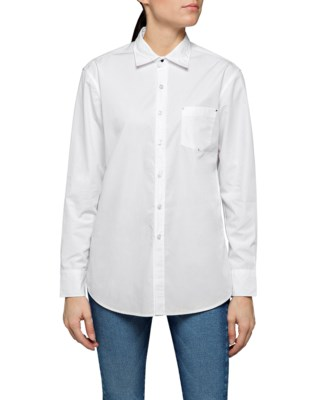 Cotton Popeline Shirt W