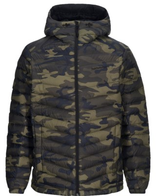 Frost Down Printed Hood Jacket M