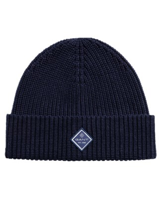 Cotton Rib Knit Hat