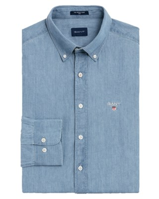 The Indigo Slim Shirt M
