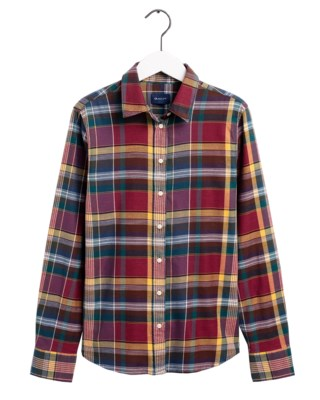 Winter Twill Madras Check Shirt W
