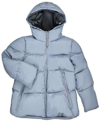 Short Padded Hood Jacket W