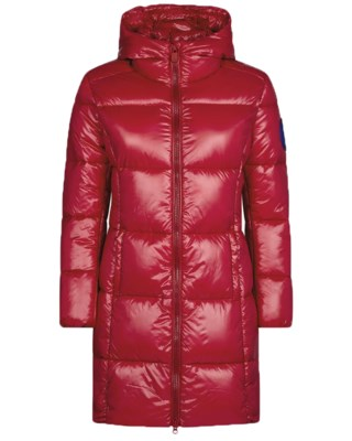 Hooded Coat D4565 W