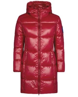 Hooded Coat D4565 W