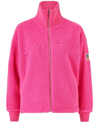 Kathryn Pile Zip Sweater W