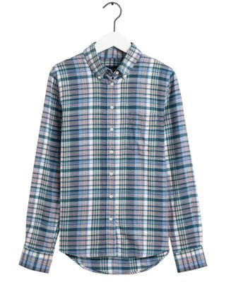Faded Winter Twill Check Shirt W