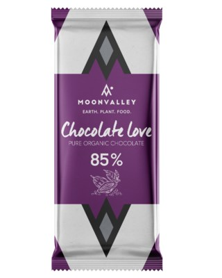 Pure Organic Chocolate Love - 85%