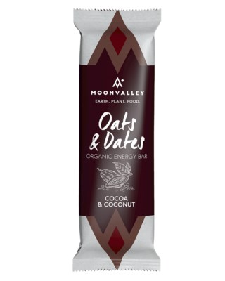 Organic Energy Bar - Cocoa & Coconut