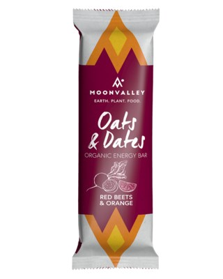 Organic Energy Bar - Red Beet & Orange