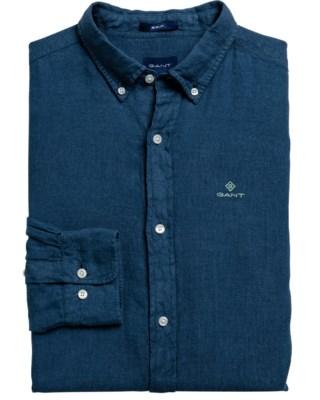 Garment Dyed Linen Regular Fit M