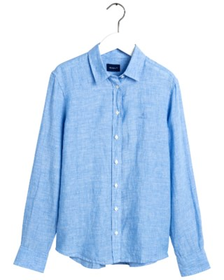 The Linen Chambray Shirt W