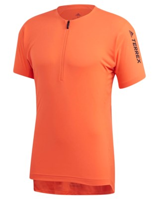 Terrex Agravic Zip Trail Running Tee M