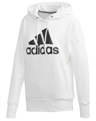 Badge Of Sport Long Hoodie W