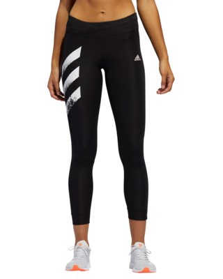 Own The Run 3-Stripes Fast Tights W