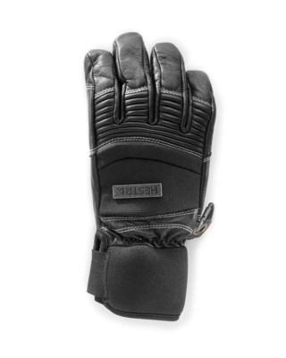 Leather Ski Cross - 5 finger