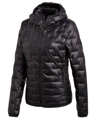 Light Down Hooded Jacket W
