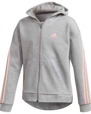 3-Stripes Full-Zip Hoodie JR