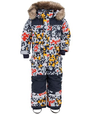 Polarbjörnen Printed Kids Coverall
