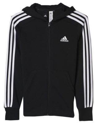 Essentials 3-Stripes F/Z Hood JR
