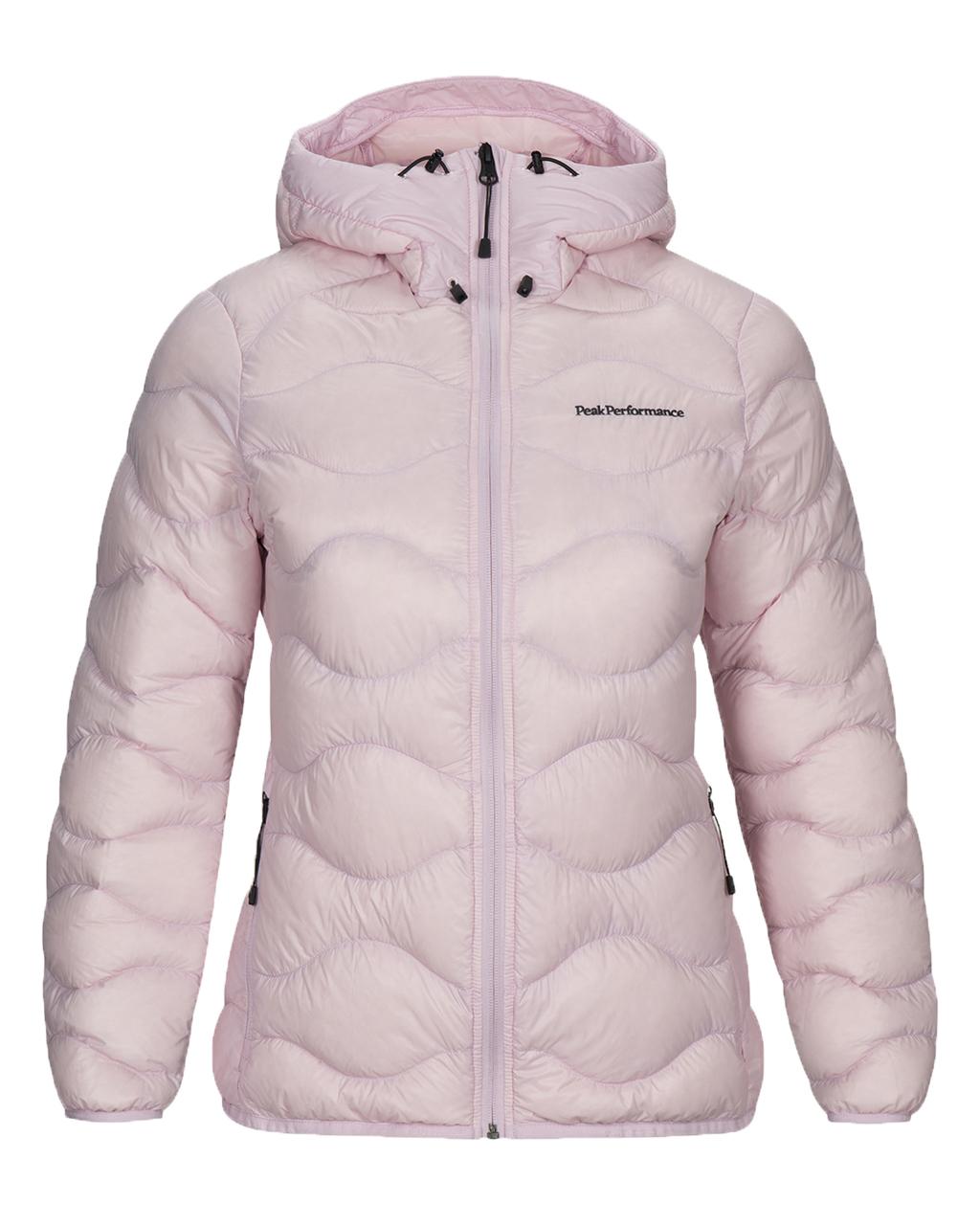 Helium Hood Jacket W Cold Blush